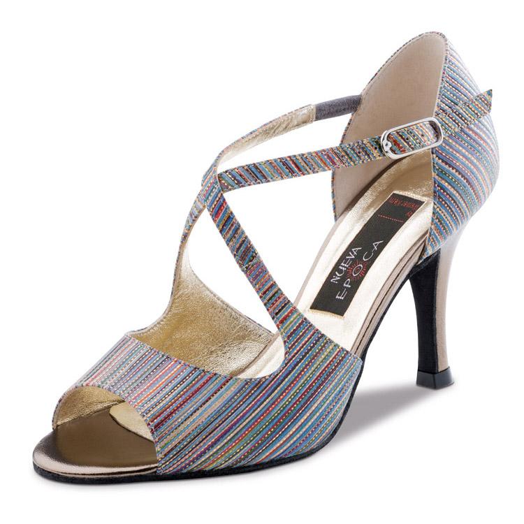 Chaussure de danse femme Nueva Epoca CHIARA 6, escarpins de danse, danses de salon, danses latines, Danceworld, bruxelles.