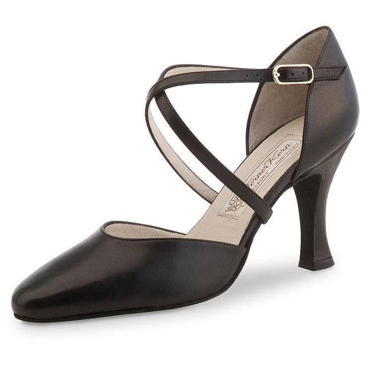 Chaussure de danse femme Werner Kern Patty 80, chaussures de danses de salon, chaussures de danses latines, Danceworld, Bruxelles.