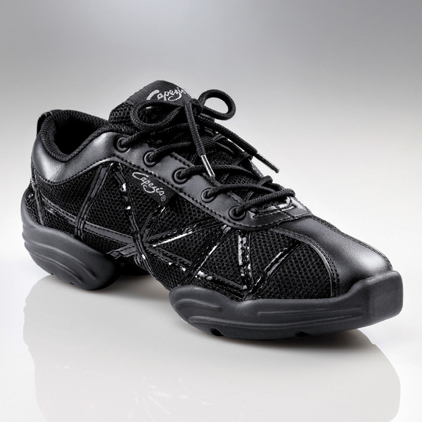 WEB DS19 BLACK, Sneakers de jazz CAPEZIO enfant, WEB DS19, Sneaker de danse jazz CAPEZIO adulte, danceworld, bruxelles.