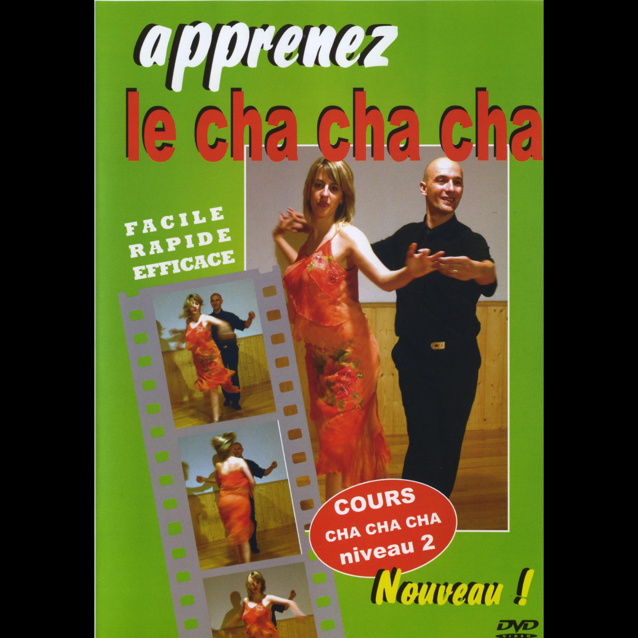"DVD Tutoriel danses de salon ""apprenez le cha cha cha"" arcades jp119, danceworld bruxelles"