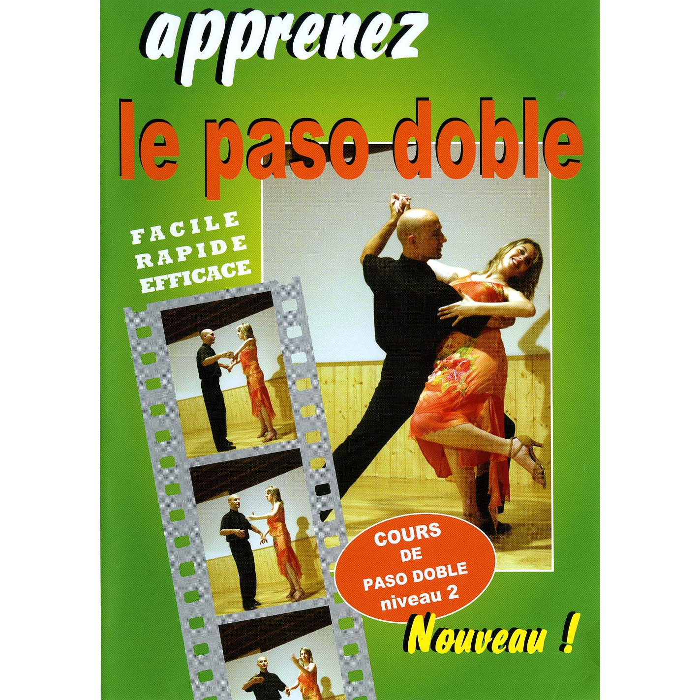 DVD tutoriel cours de paso doble niveau moyen, en 7 leçons. ARCADES JP117