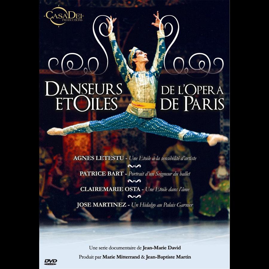 Film documentaire Art et culture, DVD CAS002 Danseurs étoiles de l'opéra de Paris