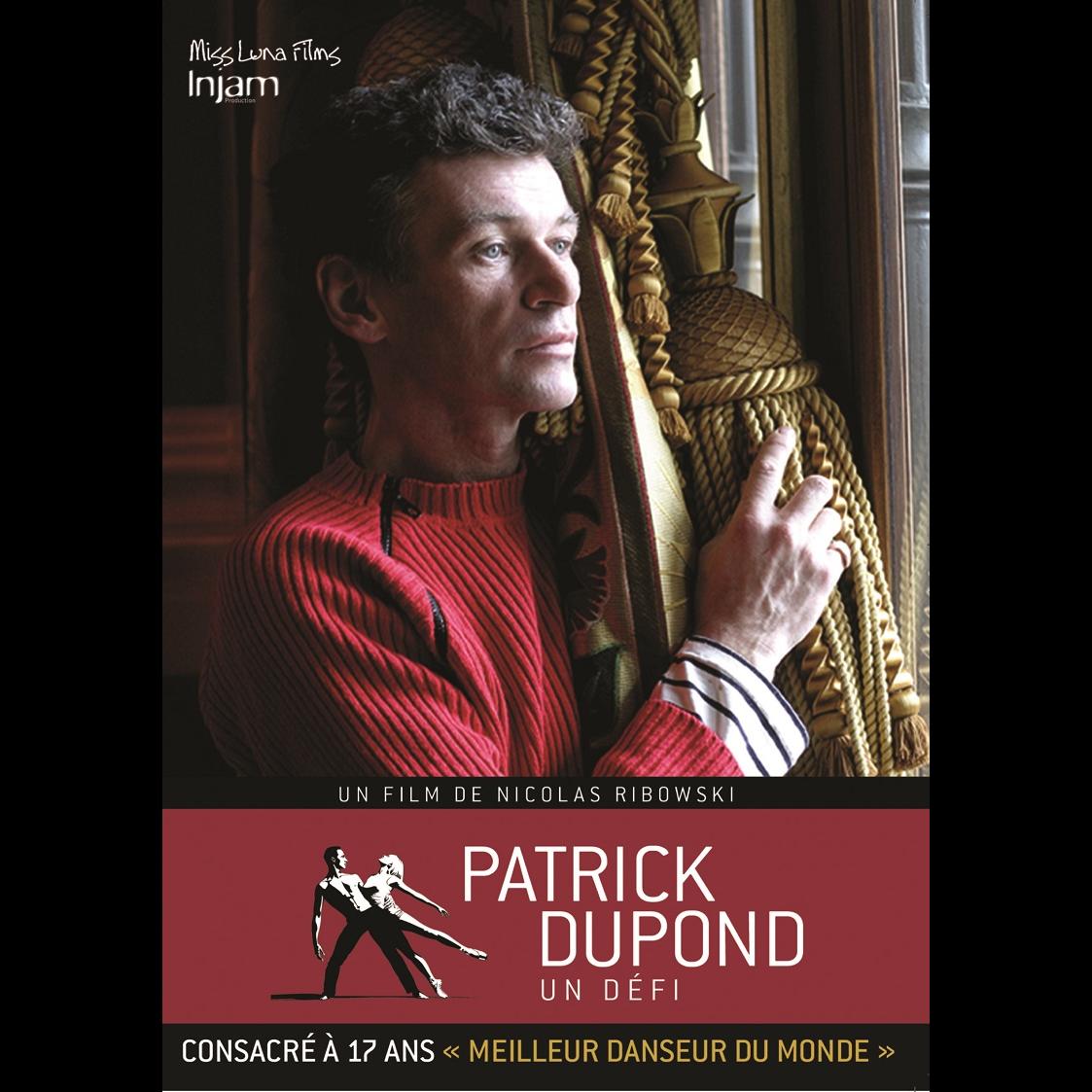 DVD INJ023 Patrick Dupond, Un défi, film documentaire de Nicolas Ribowski.