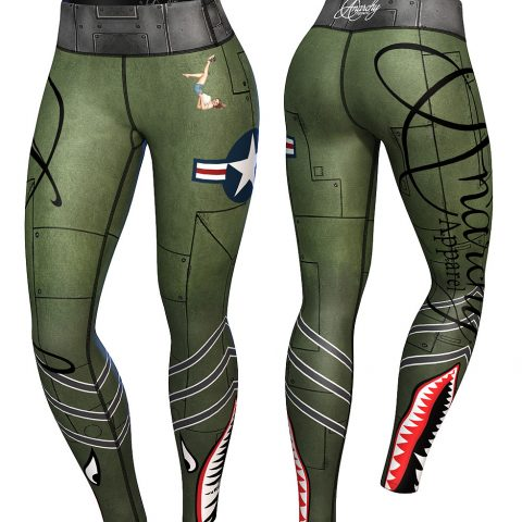 Anarchy Apparel Bomber compression Legging., Dance World, Bruxelles