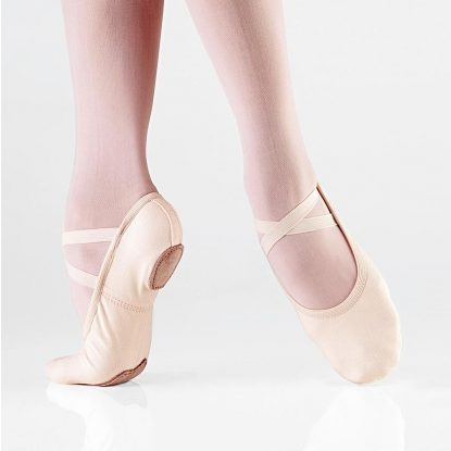 Demi-pointe de ballet SO DANCA, SD16-B, SD16-C, toile stretch, pied fin Dance World, Bruxelles