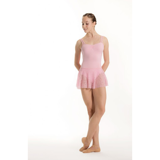 SKIRT LACE E11092, Jupette courte de ballet So Dança, danceworld, bruxelles.