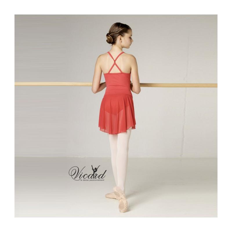 ophélie tn19 bordeaux, Tunique de danse VICARD Ophélie TN19 LM, danceworld, bruxelles