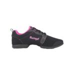 Sneaker de jazz RUMPF bi-semelle, MOJO 1510, pink and black
