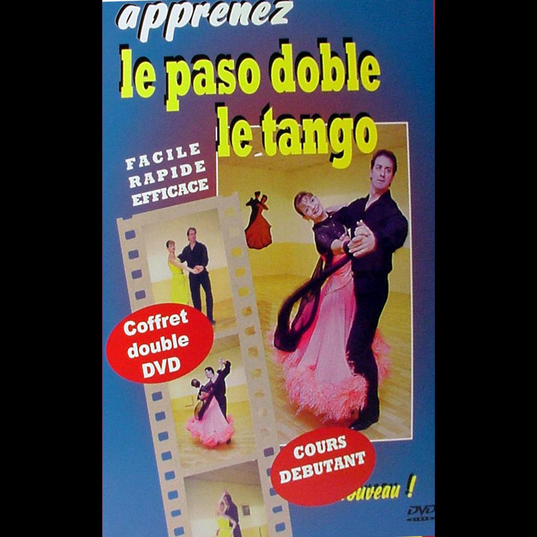 """Coffret 2 DVD, Tutoriels de danses de salon """"Apprenez le Paso Doble et le Tango"""", ARCADES JP110."""