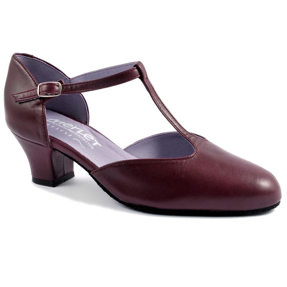 MERLET EVA 240, Chaussure Charleston femme en solde, danceworld, bruxelles