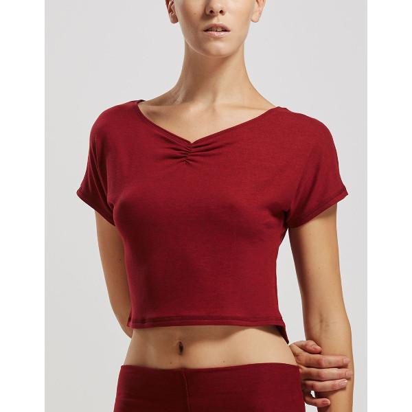 ELAN, T-shirt court TEMPS DANSE pour la danse, danceworld, bruxelles.