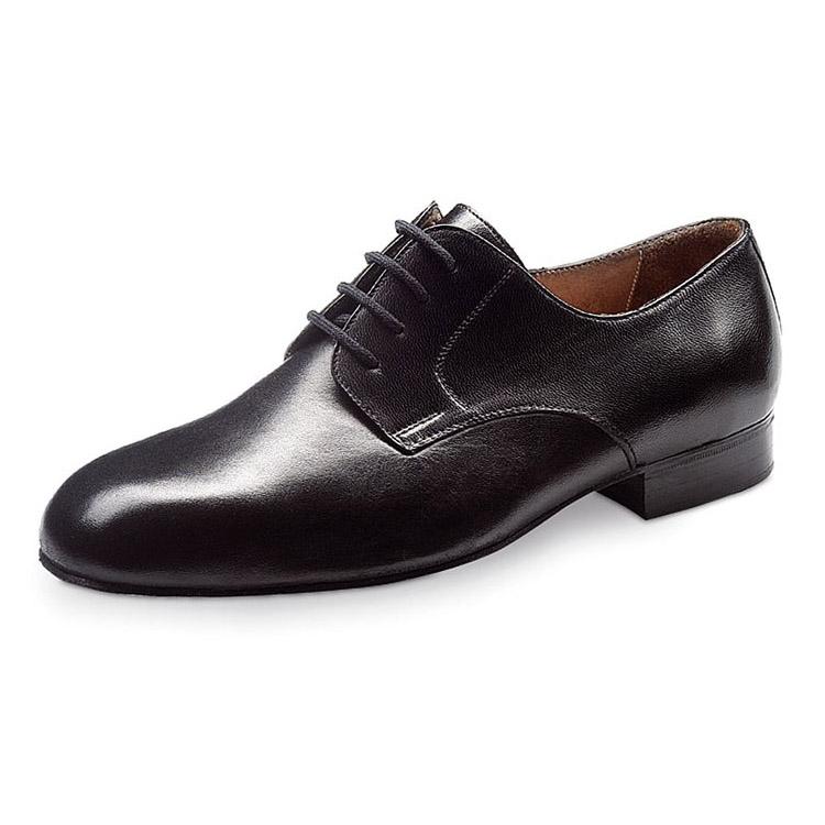 chaussure de danse pour homme werner kern 28010, chaussure de danse de salon, laçage 4 trous, modèle classique, confortable et adapté pour les pieds larges