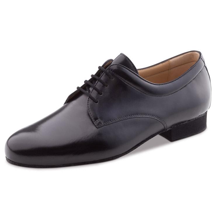 chaussure de danse pour homme werner kern 28048, chaussure de danse de salon, en cuir souple, légère très confortable, laçage 4 trous, semelle amovible