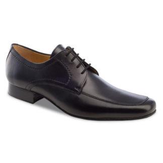 chaussure de danse pour homme anna kern 5711, chaussure de danse de salon, est en cuir souple, très confortable, modèle classique, la partie avant donne un aspect étroit au pied, laàage 4 trous, idéal pour danse de salon, danceworld à bruxelles