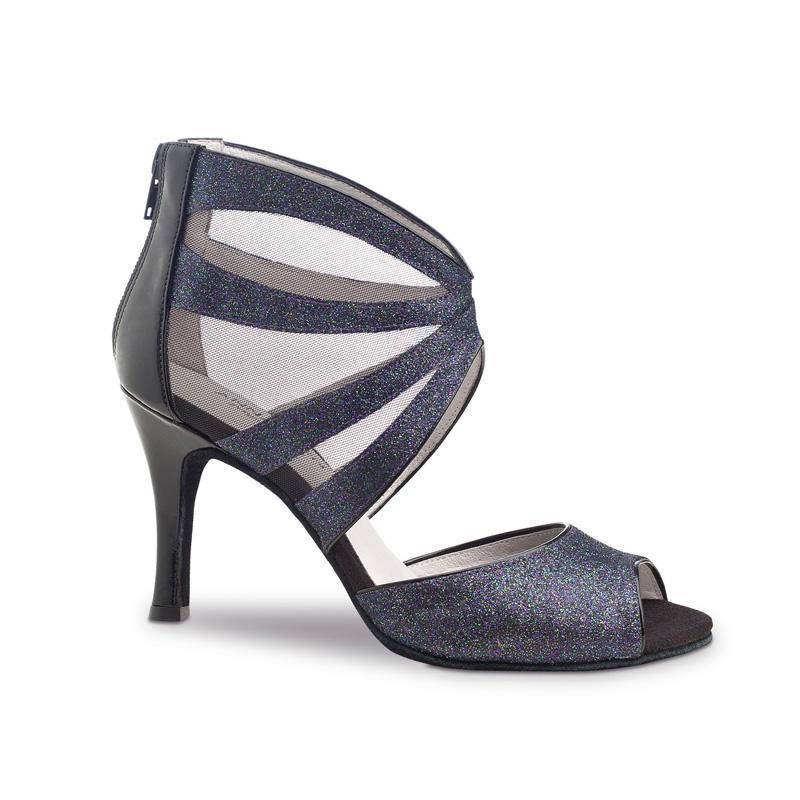 chaussure de danse femme anna kern 766, chaussures de danse de salon, danses latines, danceworld, bruxelles.
