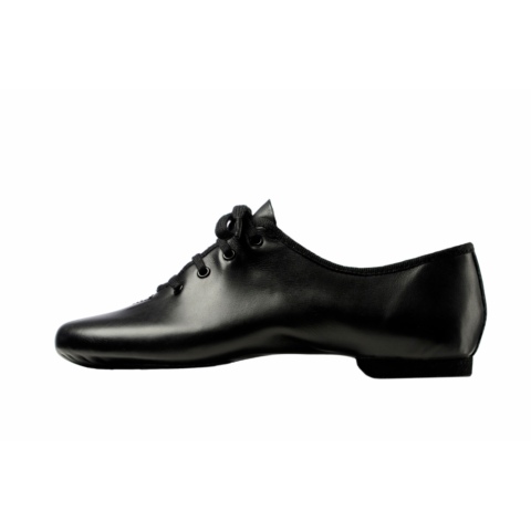 chaussons de jazz merlet gary, chaussons de danse, bi-semelles, demi-pointes, en cuir, Chausson de danse Jazz MERLET-GALION, cuir noir, bi-semelle.