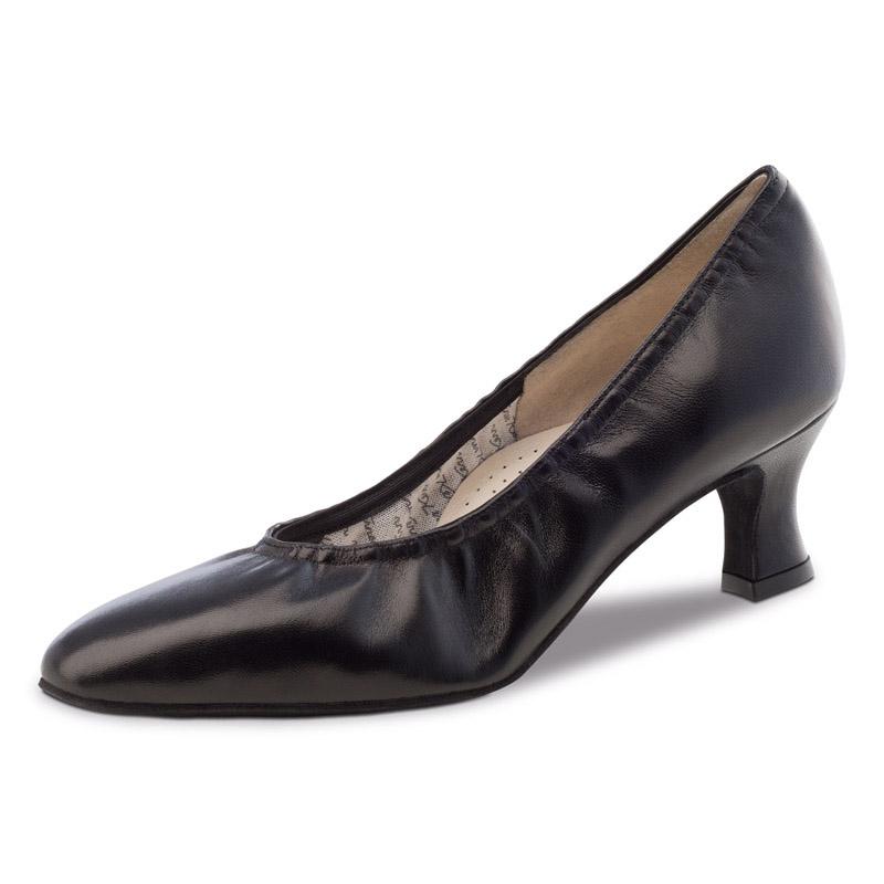 Chaussure de danse werner kern laure 50, chaussure de danse de salon, chaussure de danse standard, très confortable, en cuir souple, élastique qui épouse le pied, idéal pour danse de salon et danse standard, danceworld bruxelles