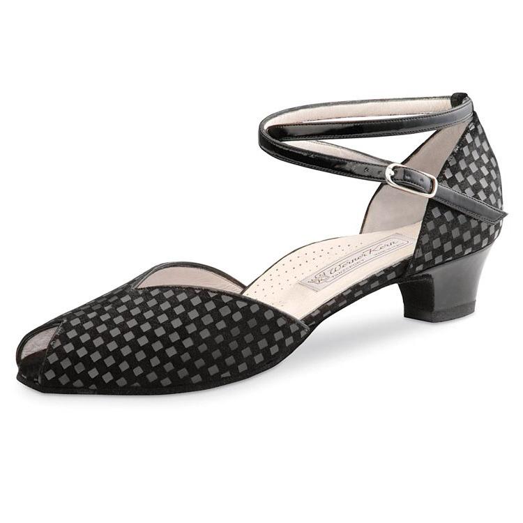 Chaussures de danse femme Werner Kern Lola Confort 34, escarpins de danse, chaussures pour pieds sensibles, danceworld, bruxelles.