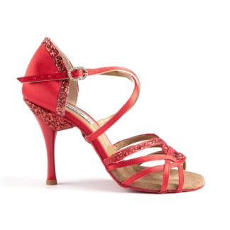 Chaussure de danses de salon PORTDANCE PD800-75 PRO red