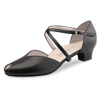Chaussure de danse femme Werner Kern Rachel Confort 34, escarpins de danse, chaussures pour pieds sensibles, danceworld, bruxelles.