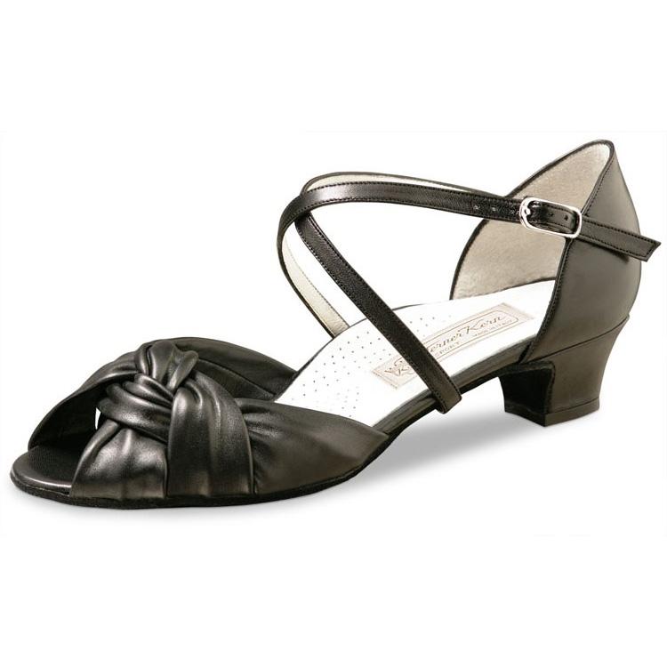 Chaussure de danse femme WERNER KERN ULLA Confort 34, chaussures de danses de salon pour femme, pieds sensibles, danceworld, bruxelles.