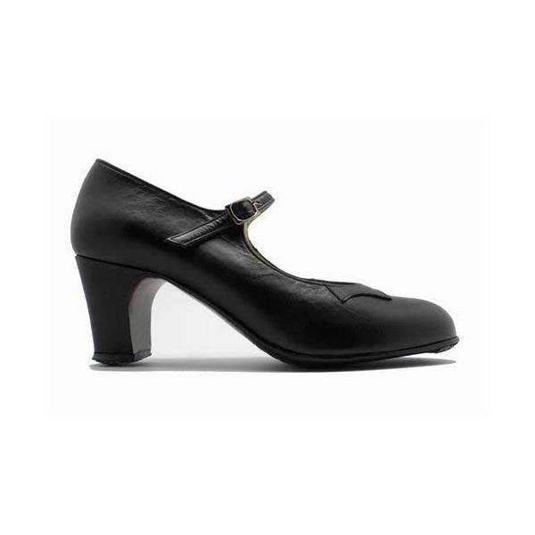 BASIC M00 NERO, Chaussure de flamenco Begona Cervera, danceworld, bruxelles.