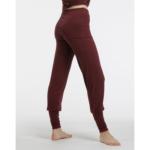Pantalon à rabat TEmps DANSE Ecrin, viscose fluide, effet guêtre.