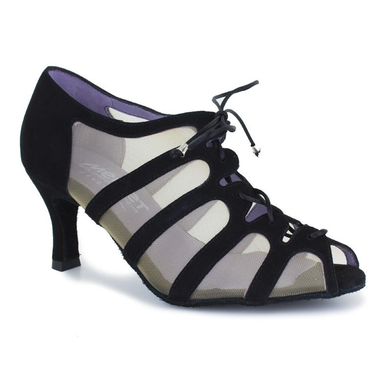 Chaussure de danses de salon pour femmes MERLET Sya coloris betterave