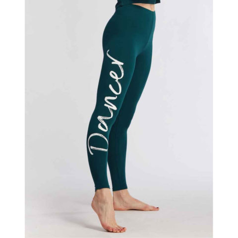 Legging de danse Temps Danse Adalie I AM A DANCER, fibres naturelles, danceworld, bruxelles.