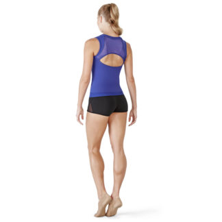 Top sans manche de fitness ou yoga BLOCH FT5009, danceworld, bruxelles.