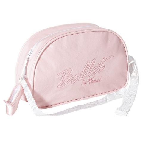 Sac de danse enfant So Dança BG506 ballet pink, logo ballet • Danceworld, bruxelles